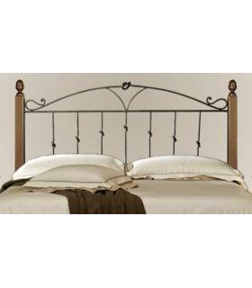 Acheter en ligne Têtes de lit en Forge avec Bois : Collection BRUSSEL