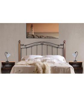 Acheter en ligne Têtes de lit avec barres en bois: modèle CRISTINA.
