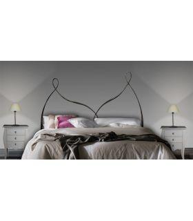 Acheter en ligne Têtes de lit en fer forgé: modèle COLONIA.
