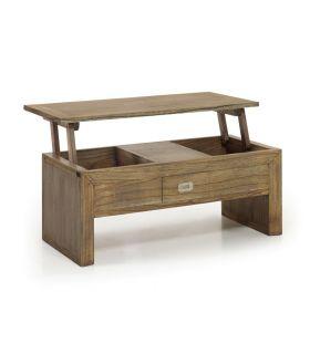 Acheter en ligne Tables Relevables en Bois : Collection MERAPI