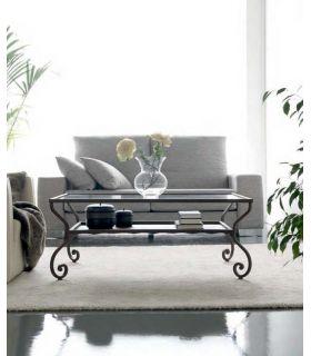 Acheter en ligne Tables basses en fer forgé: modèle DAMASCO.