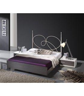 Acheter en ligne Têtes de lit en fer forgé: modèle AINA.
