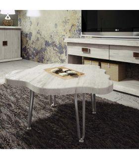 Acheter en ligne Table basse en bois et métal : Modèle MOZT