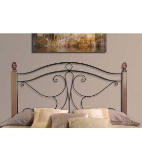Acheter en ligne Têtes de lit avec poteaux en bois: modèle VIENNE