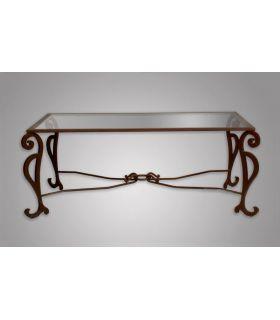 Acheter en ligne Tables basses ou d'appoint en fer forgé: modèle CANADA.