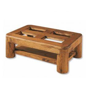 Acheter en ligne Tables Basses en Bois de Pin : Collection TRONC