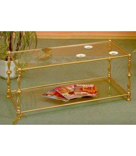 Acheter en ligne Tables basses en laiton: modèle 4051.