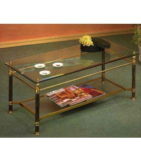 Acheter en ligne Tables basses en leiton et fer forgé: modèle 4065.