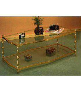 Acheter en ligne Tables basses en laiton: modèle 4001.