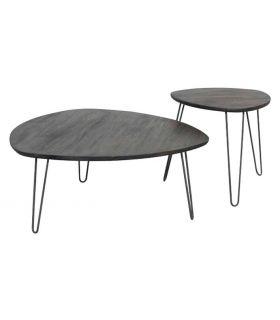 Acheter en ligne Lot de Tables pour Salon : Modèle LUVENA