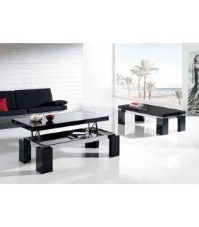 Acheter en ligne Table basse en bois et verre : Modèle PAT