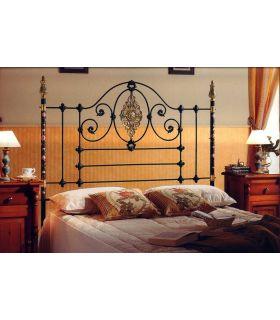 Acheter en ligne Lits et têtes de lit en laiton et fer forgé: modèle PARIS.