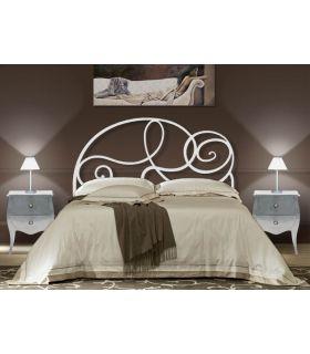Acheter en ligne Tête de lit en fer forgé: modèle BRUXELLES