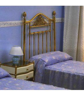 Acheter en ligne Lits en laiton et têtes de lit: modèle GENÈVE.