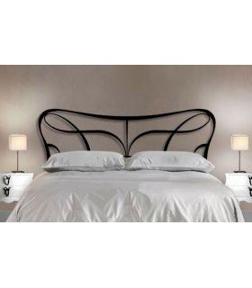 Acheter en ligne Têtes de lit originaux en fer forgé: modèle VENUS.