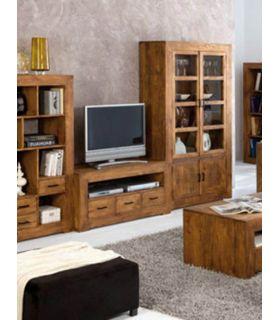 Acheter en ligne Meubles TV en Bois : Collection ZOOM à 3 Tiroirs