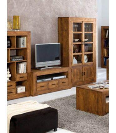 Muebles de Madera para TV : Colección ZOOM 3 cajones