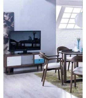 Acheter en ligne Tables TV en Bois : Collection STUFF