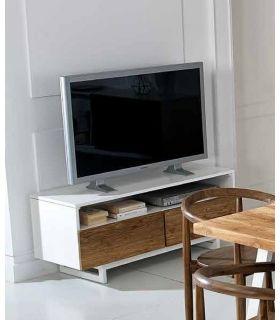 Acheter en ligne Tables TV en Bois : Collection FREDA