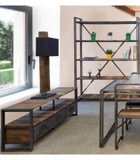 Acheter en ligne Tables TV de Style Industriel : Modèle EDITO
