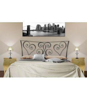 Acheter en ligne Têtes de lit en fer forgé: modèle AMAZON.