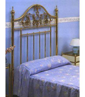 Acheter en ligne Lits en laiton et têtes de lit: modèle AUDE.