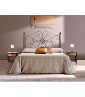 Acheter en ligne Têtes de lit avec barres en bois: modèle TURIN.