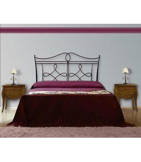 Acheter en ligne Têtes de lit en fer forgé: modèle AMBERES.
