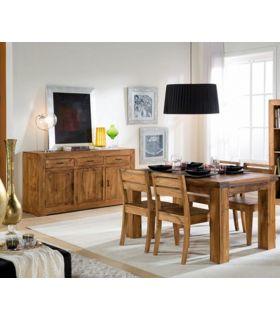 Acheter en ligne Meubles Buffet pour Salon Séjour : Collection ZOOM 3 Tiroirs