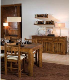 Acheter en ligne Meubles Buffet pour Salons : Collection TRONC 3 tiroirs