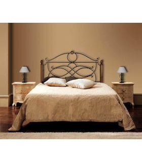 Acheter en ligne Têtes de lit en fer forgé et bois: modèle CONSUELO.