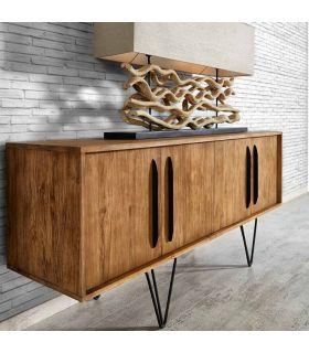 Acheter en ligne Meubles Buffet en Teck Recyclé : Modèle LOKKEN