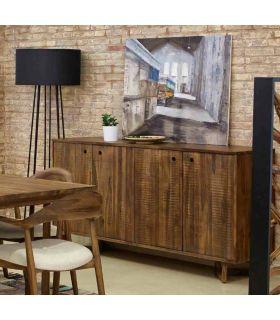 Acheter en ligne Meubles Buffet en Bois de Teck : Collection CALVIN