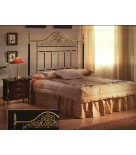 Acheter en ligne Lits et têtes de lit en laiton et fer forgé: modèle METZ.