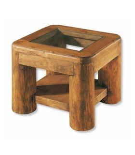 Acheter en ligne Tables d´angle en Bois Naturel : Collection TRONC
