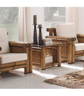 Acheter en ligne Tables d'appoint en rotin: modèle SAMAYA.