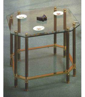 Acheter en ligne Tables d'appoint en laiton et fer forgé: Modèle ELEANOR