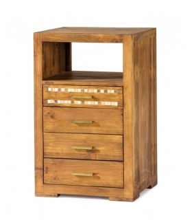 Acheter en ligne Tables d´appoint avec Casier : Collection MOSAIC