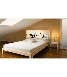 Acheter en ligne Têtes de lit rétroéclairés: modèle AMANDIER.