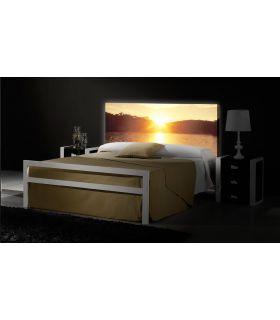 Acheter en ligne Têtes de lit rétroéclairés: modèle RIVIERA.