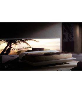 Acheter en ligne Têtes de lit rétroéclairés: modèle DOMINICANA BEACH.