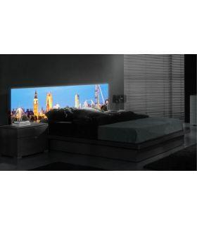 Acheter en ligne Têtes de lit rétroéclairés: modèle LONDON.