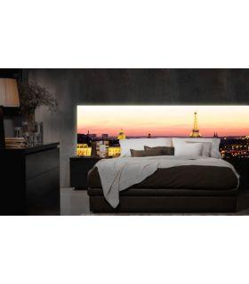 Acheter en ligne Têtes de lit rétroéclairés: modèle PARIS.
