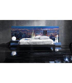 Acheter en ligne Têtes de lit rétroéclairés: modèle NY CHRYSLER.