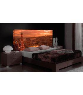 Acheter en ligne Têtes de lit rétroéclairés: modèle LAS VEGAS.