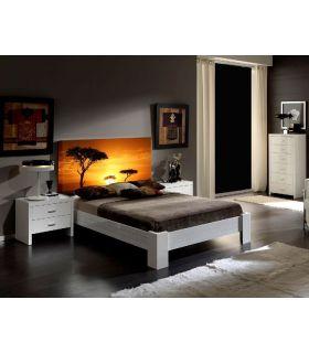Acheter en ligne Têtes de lit rétroéclairés: modèle SAVANA.