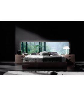 Acheter en ligne Têtes de lit rétroéclairés: modèle FORÊT NOIRE.