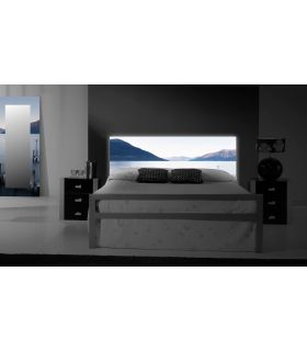 Acheter en ligne Têtes de lit rétroéclairés: modèle FJORDS.