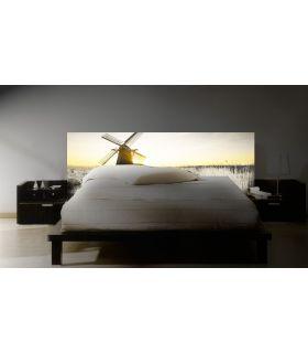 Acheter en ligne Têtes de lit rétroéclairés: modèle MOULIN.