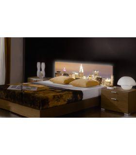 Acheter en ligne Têtes de lit rétroéclairés: modèle NYCITY.